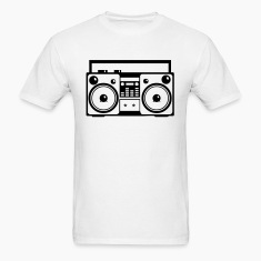 Stereo Music Boombox Old School 1c