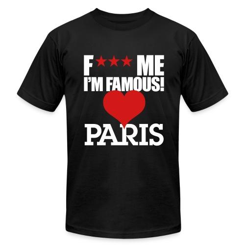 F*** Me I'm Famous PARIS - Men's  Jersey T-Shirt
