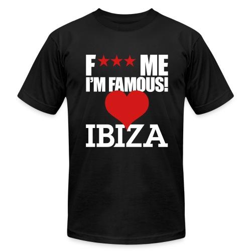 F*** Me I'm Famous IBIZA - Men's Fine Jersey T-Shirt