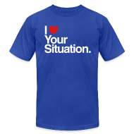 T-Shirts ~ Men's T-Shirt by American Apparel ~ The Situation Mens AA
