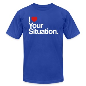 The Situation Mens AA - Men's Fine Jersey T-Shirt