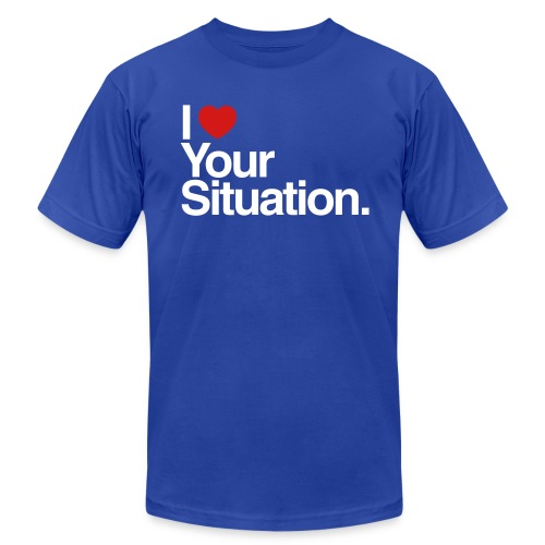 The Situation Mens AA - Men's T-Shirt by American Apparel