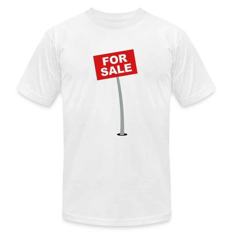 For Sale Sign T Shirt Spreadshirt