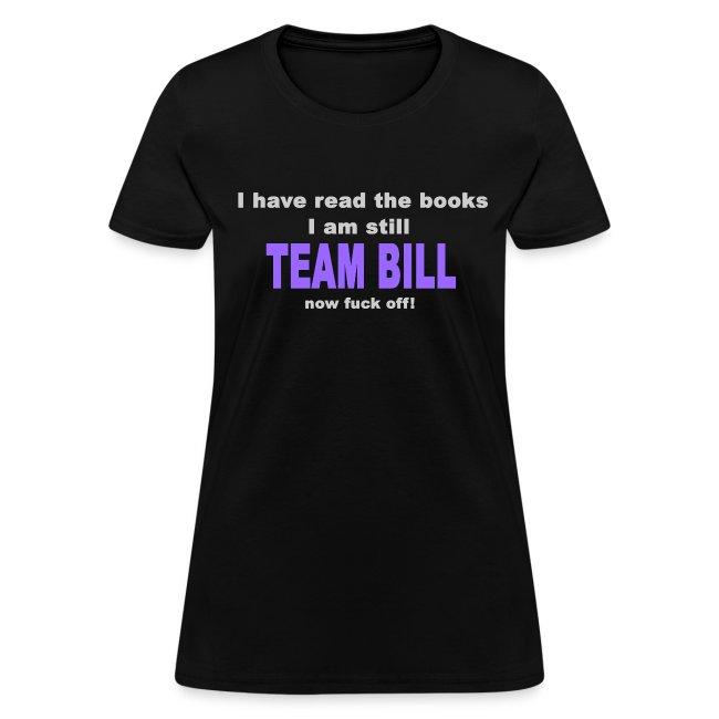 Still Team Bill -  Purple - Women's
