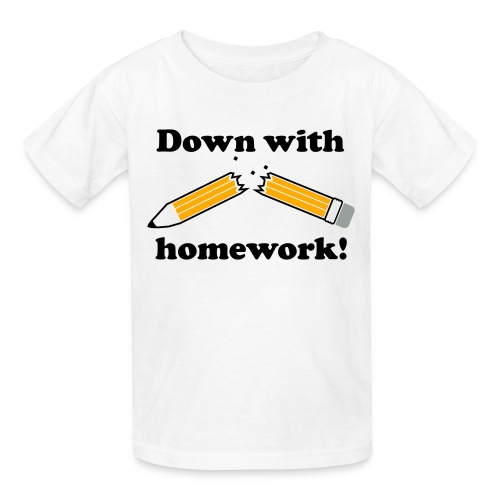 Homework T-Shirt - Kids' T-Shirt