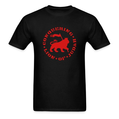 Conquering Lion - Men's T-Shirt