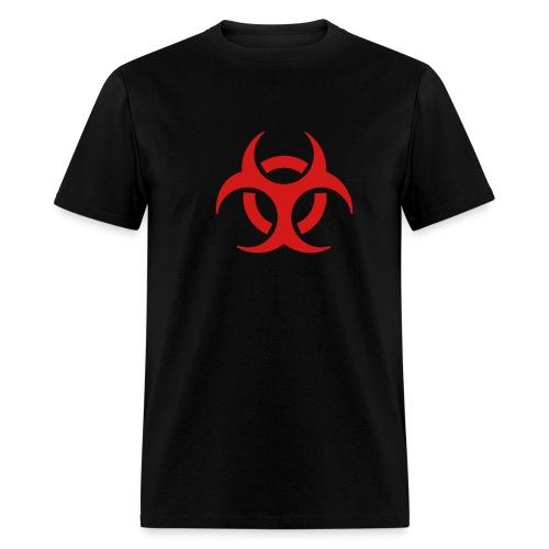 hazard sign - Men's T-Shirt