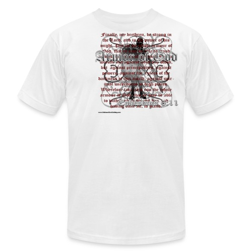 Armor of God  - Men's  Jersey T-Shirt