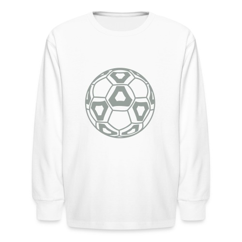 Cool New Professional Soccer Ball Design - Kids' Long Sleeve T-Shirt