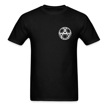 Black New Professional Soccer Ball T-Shirts