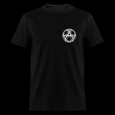 Black New Professional Soccer Ball T-Shirts
