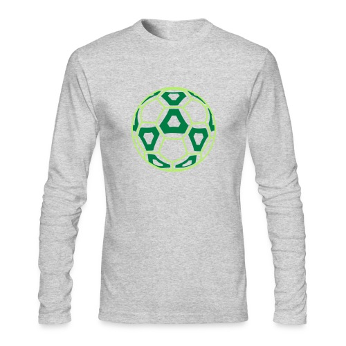 Professional Soccer Ball Graphic - Men's Long Sleeve T-Shirt by Next Level