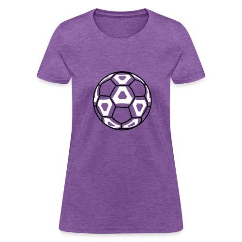 Professional Soccer Ball Graphic - Women's T-Shirt