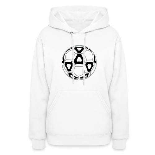 Professional Soccer Ball Graphic - Women's Hoodie