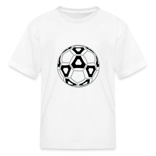 Professional Soccer Ball Graphic - Kids' T-Shirt