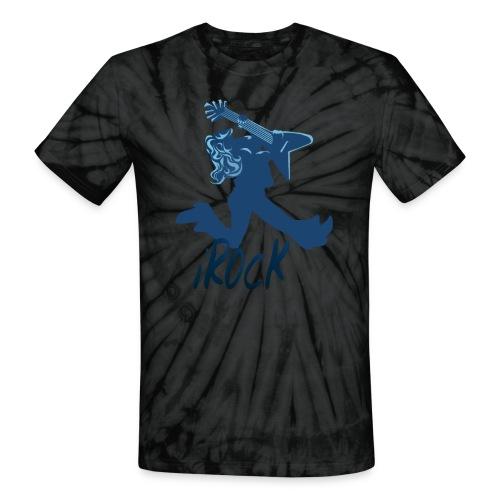 iROCK lettered - Unisex Tie Dye T-Shirt
