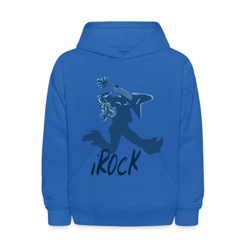 iROCK lettered - Kids' Hoodie
