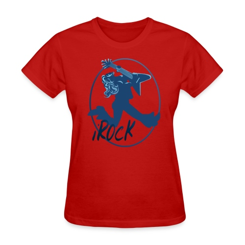 iROCK Circle lettered - Women's T-Shirt