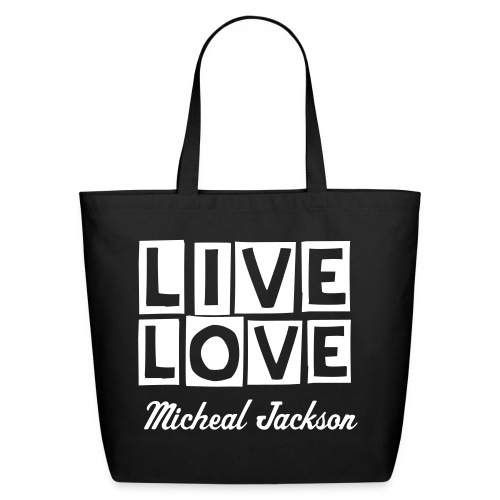 Cottone Tote Bag (Featuring Micheal Jackson) - Eco-Friendly Cotton Tote