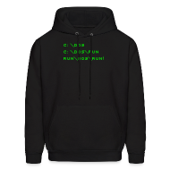 Hoodies ~ Men's Hoodie ~ The Good Ol' Days (Backslash)