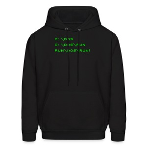The Good Ol' Days (Backslash) - Men's Hoodie