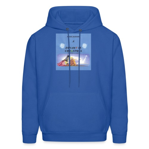 A DYNAMITE CHRISTMAS - THE OFFICIAL ALBUM men's hooded sweatshirt - Men's Hoodie