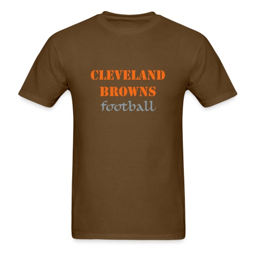 Cleveland Browns Football T-Shirt - Men's T-Shirt