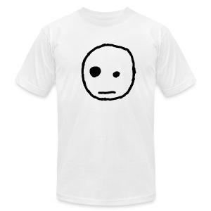 apathetic face men's - Men's Fine Jersey T-Shirt