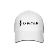 Sportswear ~ Baseball Cap ~ Resistance is Futile Cap (on Light)