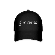 Sportswear ~ Baseball Cap ~ Resistance is Futile Cap (on Dark)