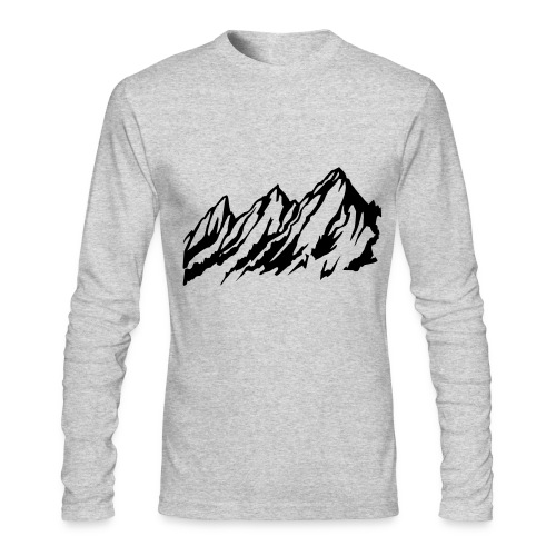 long sleeve mountains - Men's Long Sleeve T-Shirt by Next Level