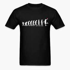 Black evolution basketball T-Shirts