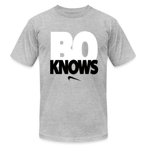 BO KNOWS - Men's Fine Jersey T-Shirt