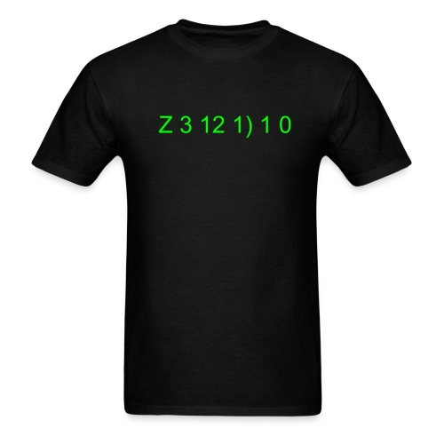 Zerdio Numbers tee - Men's T-Shirt