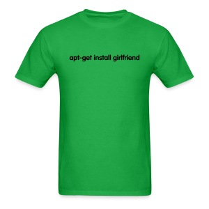 apt-get install girlfriend (on Light) - Men's T-Shirt