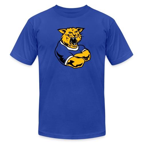 Custom Team Mascot - Men's Fine Jersey T-Shirt