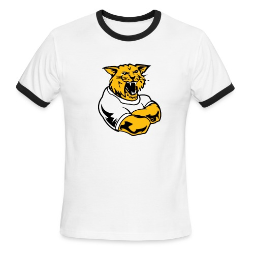 Custom Team Mascot - Men's Ringer T-Shirt