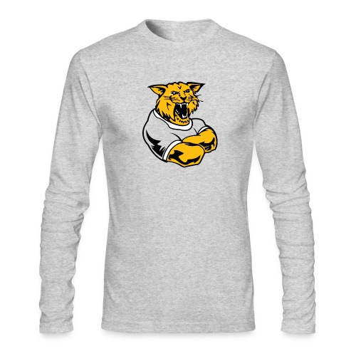 Custom Team Mascot - Men's Long Sleeve T-Shirt by Next Level