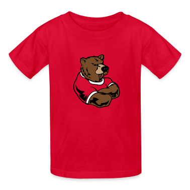 Red bear Kids' Shirts