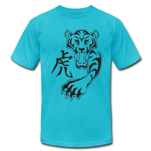 Kanji Tiger - Men's Fine Jersey T-Shirt