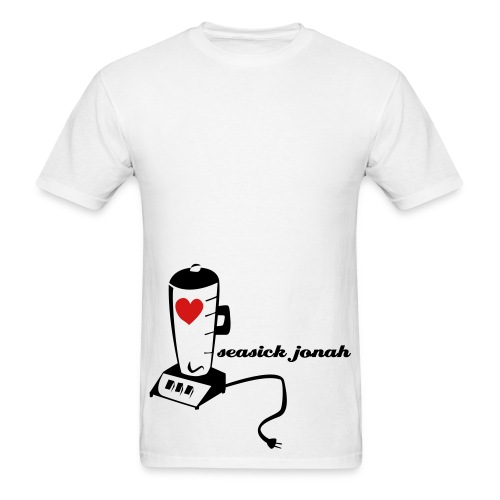 Heart n' Blender tee - Men's T-Shirt