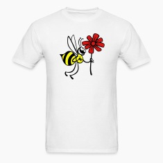 Bee Flower Love Blossom 3c