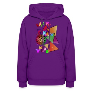 Exploding New Years Ball - Women's Hoodie