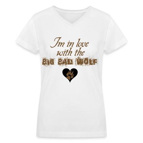 Team Jacob - Women's V-Neck T-Shirt