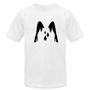 White sex T-Shirts - Men's T-Shirt by American Apparel