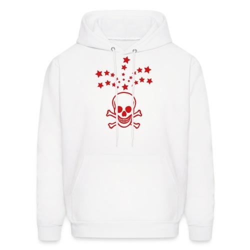 Shooting Skull - Men's Hoodie