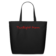 Bags & backpacks ~ Eco-Friendly Cotton Tote ~ Twilight Mom Canvas Book Bag