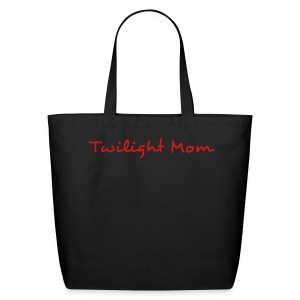 Twilight Mom Canvas Book Bag - Eco-Friendly Cotton Tote