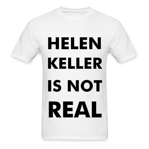 helen keller - Men's T-Shirt