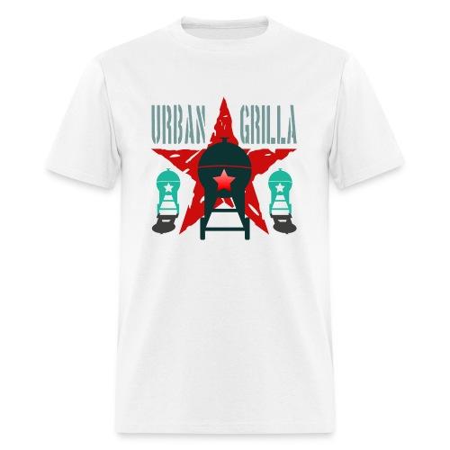 Urban Grilla BBQ, barbecue chef / cook 2 - Men's T-Shirt